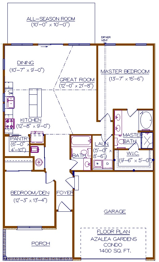 2016 NEW Floor Plan - Azalea Gardens